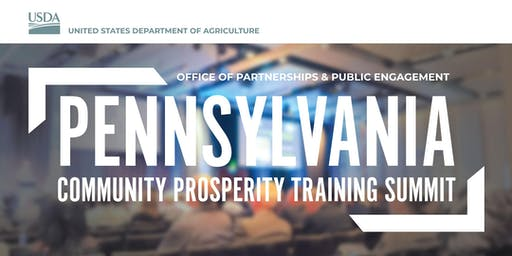 Pennsylvania Community Prosperity Training Summit