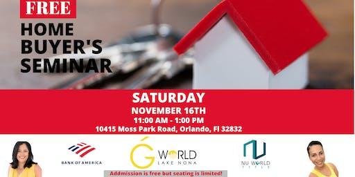 Free Home Buyer Seminar