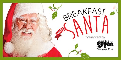 Breakfast with Santa presented by The Little Gym of Greenville
