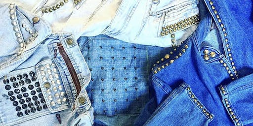 Free Denim Studding Workshop