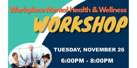 Workplace Mental Health Workshop tickets