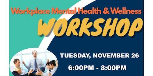 Workplace Mental Health Workshop