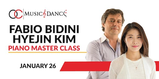 Fabio Bidini Piano Master Class - January 26th
