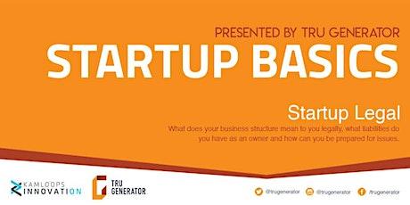 Startup Basics   Startup Legal tickets
