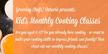Kid's Monthly Cooking Class - CARROTS! tickets