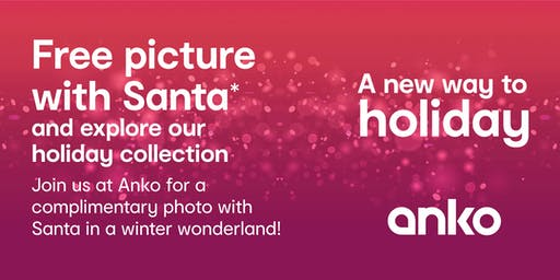Free Pictures with Santa at Anko