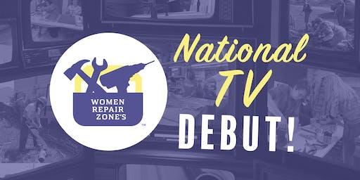 Women Repair Zone's National TV Debut!