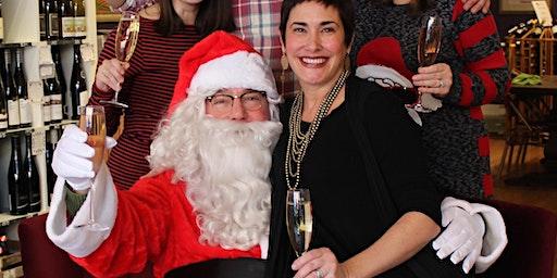 Santa Comes to The Wine Goddess!