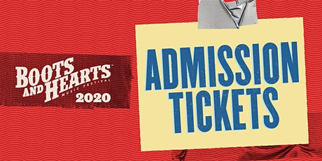 Boots and Hearts 2020 - Admission tickets