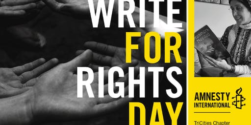 Write For Rights Fundraiser