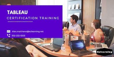 Tableau 4 Days Classroom Training in  Churchill, MB