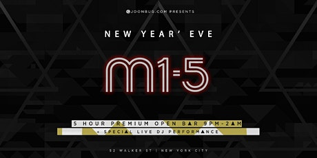 M1-5 New Years Eve 2020 Party tickets