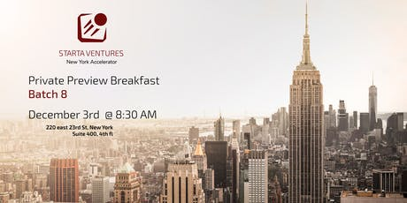 Demo Day Private Preview Breakfast tickets