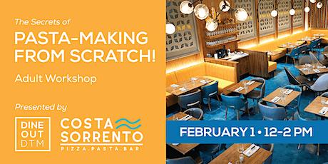 Secrets of Pasta-Making: Adult Workshop Feb.1 tickets
