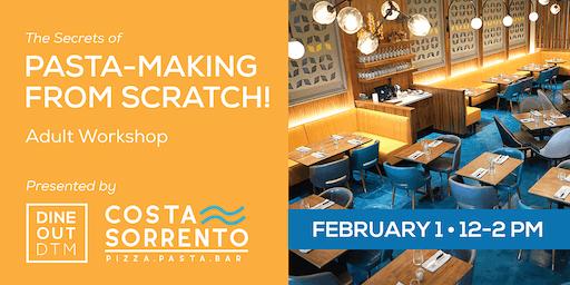 Secrets of Pasta-Making: Adult Workshop Feb.1