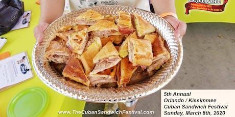 VIP: Kissimmee Cuban Sandwich Festival: VIP Area tickets