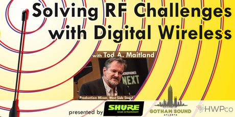 Solving RF Challenges with Digital Wireless tickets
