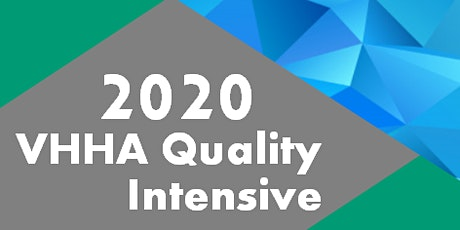 2020 VHHA Quality Intensive tickets
