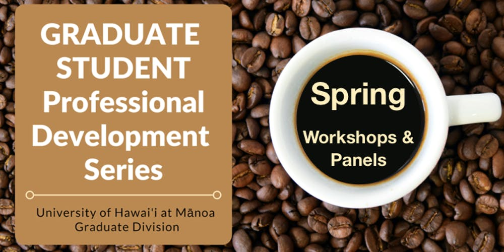 Uh Manoa Graduation 2020.2019 2020 Graduate Student Professional Development Series