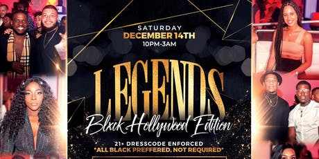 LEGENDS MIAMI: A 21+ UPSCALE ALL BLACK COCKTAIL EXPERIENCE tickets