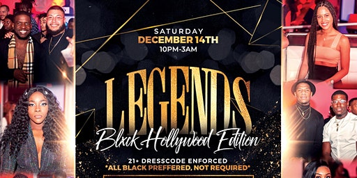 LEGENDS MIAMI: A 21+ UPSCALE ALL BLACK COCKTAIL EXPERIENCE