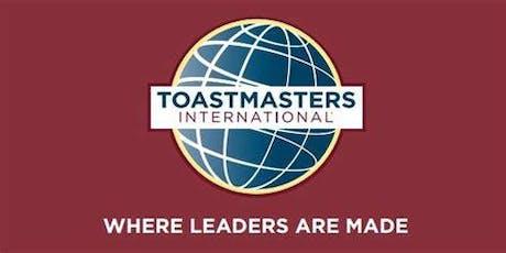 Speechen leer je bij Almere Toastmasters tickets