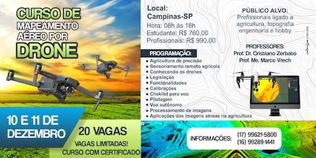 Curso de pilotagem de Drone e processamento de imagens ingressos