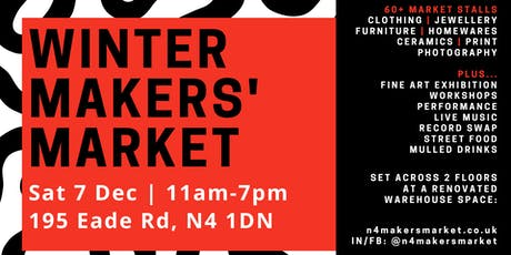 North London Makers' Market – Festive edition tickets