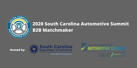 SC  Automotive  B2B Supplier Matchmaker tickets