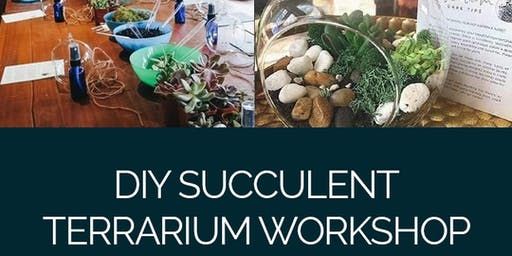 DIY Succulent Terrarium Workshop
