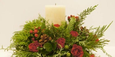 Gibson and Dehn Norway Spruce Candle Centerpiece a