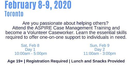 ASPIRE Caseworkers Training (Toronto)