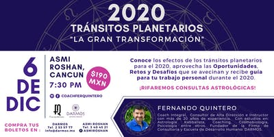 "Conferencia: ""2020 Tránsitos Planetarios: La Gran Transformación"""