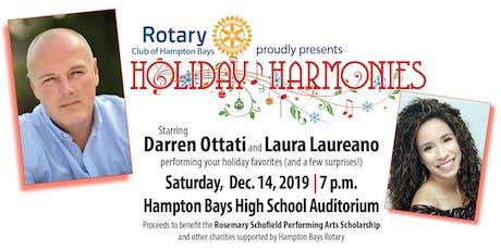 Holiday Harmonies with Darren Ottati & Laura Laureano tickets