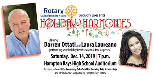 Holiday Harmonies with Darren Ottati & Laura Laureano