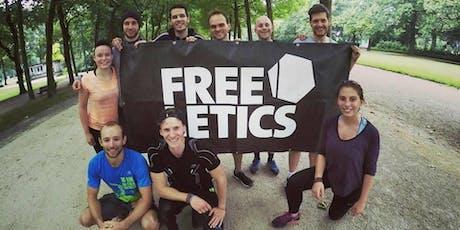 Sport gratuit à Bruxelles et rencontres : entrainement Freeletics du jeudi billets