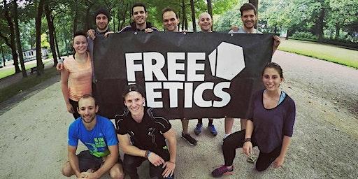 Sport gratuit à Bruxelles et rencontres : entrainement Freeletics du jeudi