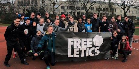 Sport gratuit à Bruxelles et rencontres : workout Freeletics du dimanche billets