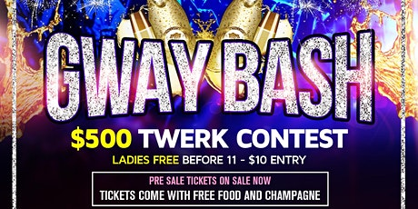 GWAY BASH - DECEMBER 28TH 2019 FOR SECTIONS 937-919-3412 tickets