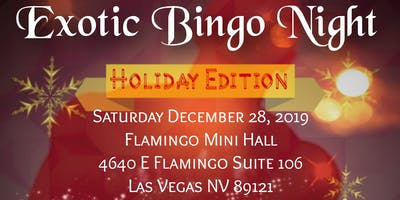Exotic Bingo Night-Holiday Edition