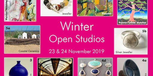 Cambridge Winter Open Studio Chesterton Art Trail