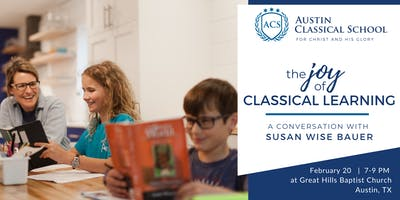 The Joy of Classical Education with Susan Wise Bauer
