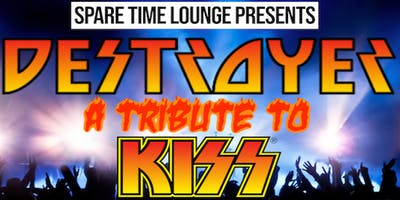 "Spare Time Lounge NYE With ""Destroyer"" A Tribute To Kiss"