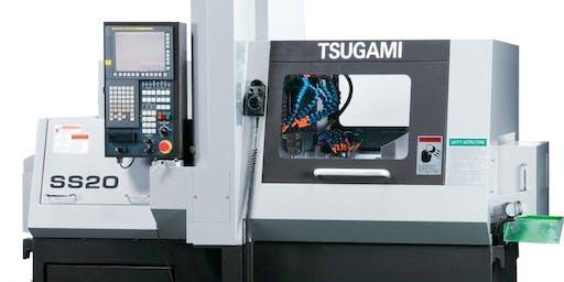 TRAINING CLASS -TSUGAMI SWISS TYPE LATHE PROGRAMMING