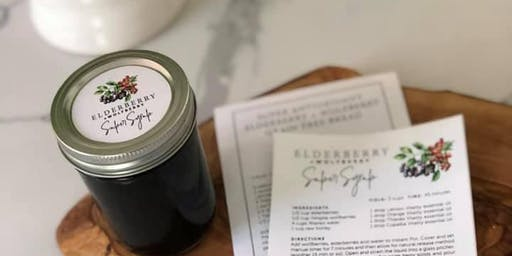 Elderberry & Wolfberry Syrup Making Workshop