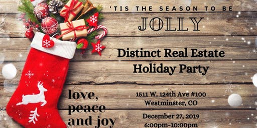 Distinct Real Estate Holiday Party