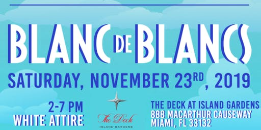 LLF Season Opening Party: Blanc de Blancs