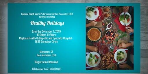 Healthy Holiday Eating Workshop