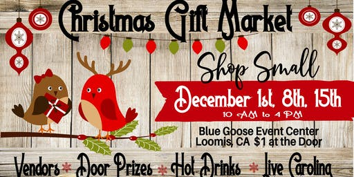 Loomis Christmas Craft & Gift Market