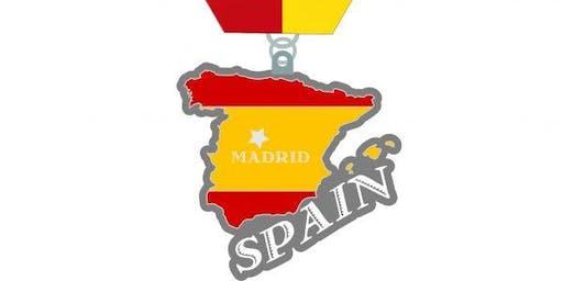 2020 Race Across Spain 1 Mile, 5K, 10K, 13.1, 26.2- Houston